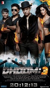 Dhoom 3 - International Indian movies distribution 1