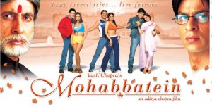 MOHABBATEIN  - International Indian movies distribution 1